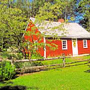 Richard Hunnewell House, Scarborough Maine Art Print