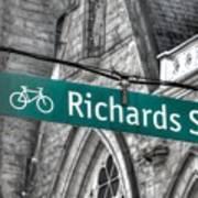 Richards Street Art Print