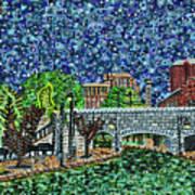 Richmond Canal Walk Art Print