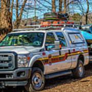 Richmond Fire And Ems Equipment 7461 Art Print
