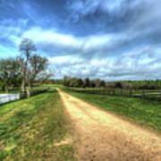 Richmond-lynchburg Stage Road, Appomattox, Virginia Art Print