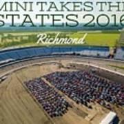 Richmond Rise/shine W/text Art Print