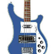 Rickenbacker Bass 4001 Body  Art Print