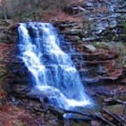 Ricketts Glen Waterfall 3941  Art Print