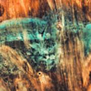 Riddicks World Watercolor Painting Art Print