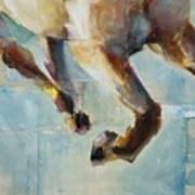 Ride Like You Stole It Art Print by Frances Marino