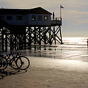 Ride Your Bike To The Beach Art Print