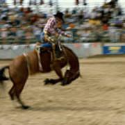 Ridem Cowboy Art Print