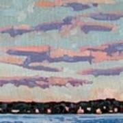 Ridge Stratocumulus Art Print
