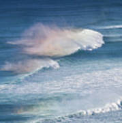 Riding The Waves Art Print