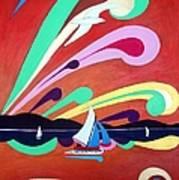 Riding The Wind Art Print