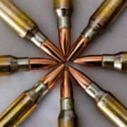 Rifle Ammuntion Art Print