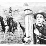Rifleman-mark-mccain Art Print