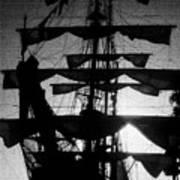 Rigging and Sail Art Print