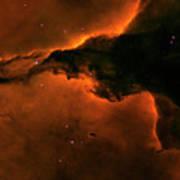 Right - Triptych - Stellar Spire In The Eagle Nebula Art Print