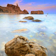 Rijana Beach Mediterranean Sea Art Print