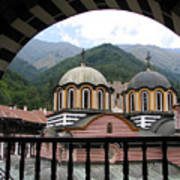 Rila Monastery Art Print