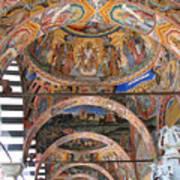 Rila Monastery In Bulgaria Art Print