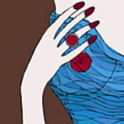 Ring Finger Art Print by Frank Tschakert