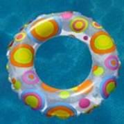 Ring In Pool Art Print