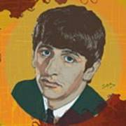 Ringo Starr Art Print by Suzanne Gee