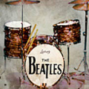 Ringo's Drums Art Print