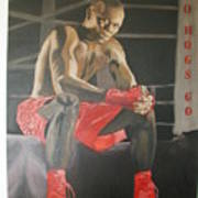 Ringside With Jermain Art Print