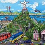 Rio De Fe, Futebol E Fantasia Art Print