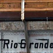 Rio Grande Bridge Art Print