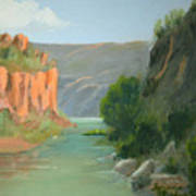 Rio Grande Canyon Art Print