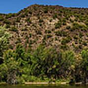 Rio Grande Panorama Pilar New Mexico Art Print