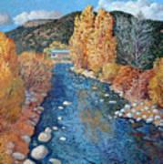 Rio Pueblo Art Print