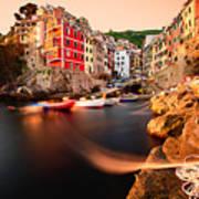 Riomaggiore Cinque Terre Art Print