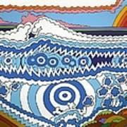 Rip Tide Art Print by Rojax Art
