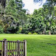 Rip Van Winkle Gardens Louisiana  Art Print