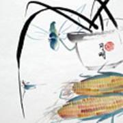 Ripen Corns Art Print