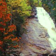 Ripley Falls Autumn Art Print