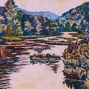 Ripples On The Little River Art Print