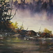 Rising Mist Art Print