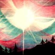 Rising Sun Art Print