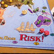 Risk - Cornered Again Art Print