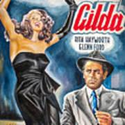 Rita Hayworth Gilda 1946 Art Print