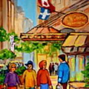 Ritz Carlton Montreal Sherbrooke Street Art Print