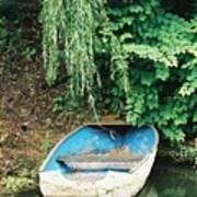 River Avon Boat Art Print