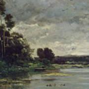 River Bank Art Print