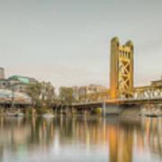 River City Waterfront Art Print
