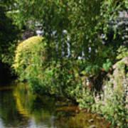 River Eea Cartmel Cumbria Art Print