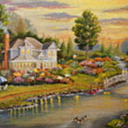 River Home Art Print