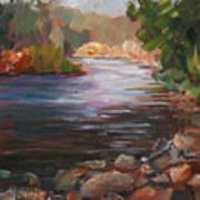 River Light Art Print