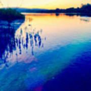 River Musing Art Print